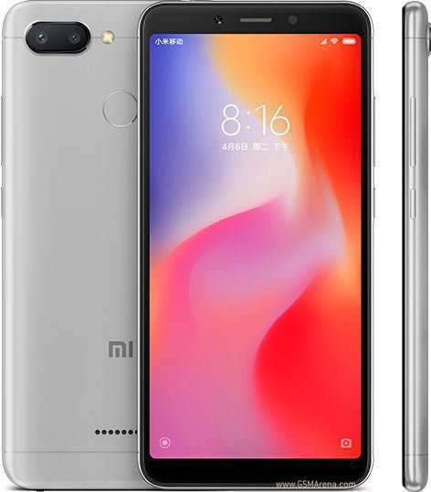 "Смартфон 5,45"" Xiaomi Redmi 6 64GB серый"