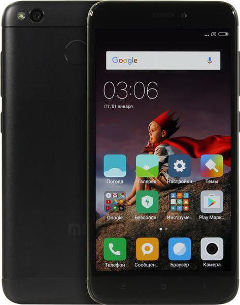 "Смартфон 5"" Xiaomi Redmi 4X 32GB черный"