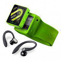 Energy Sistem MP4 Player 2508 Sport 8GB Lime Green (Sport earphones, armband and radio FM)