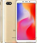 "Смартфон 5,45"" Xiaomi Redmi 6A 16GB золото"