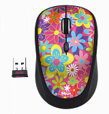 Мышь беспроводная Trust YVI WIRELESS MOUSE - FLOWER POWER