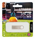 USB Флеш 16GB 2.0 Kingston DTSE9H/16GB металл logo FIFA 2018
