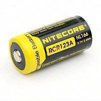 Аккумулятор NITECORE NL 166 (RCR123A) Li-ion for Flashlights