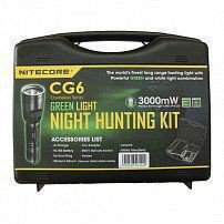 Фонарь NITECORE CG6 HUNTING KIT GREEN