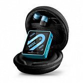 Energy Sistem MP4 Player 2504 Urban 4GB Turquoise Blue (In-ear earphones, carrying case, FM Radio)