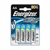 Элемент питания LR6 AA Energizer Maximum AA FSB4 3+1