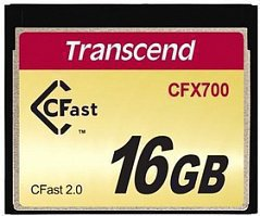 Transcend TS16GCFX700, Compact Flash 16GB 700x