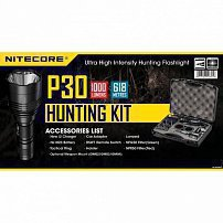 Фонарь NITECORE P30 HUNTING KIT