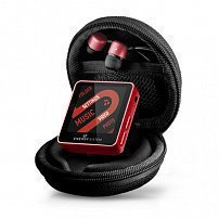 Energy Sistem MP4 Player 2504 Urban 4GB Ruby Red (In-ear earphones, carrying case, FM Radio)